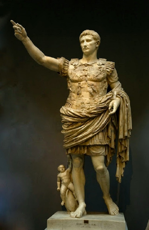 Keisari Augustus, Vatikaanin Museot. Valokuva: Mariano Garcïa Díez (Flickr).