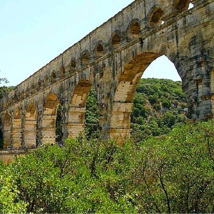 Pont du Gard. Valokuva: Arquitetura Classica.