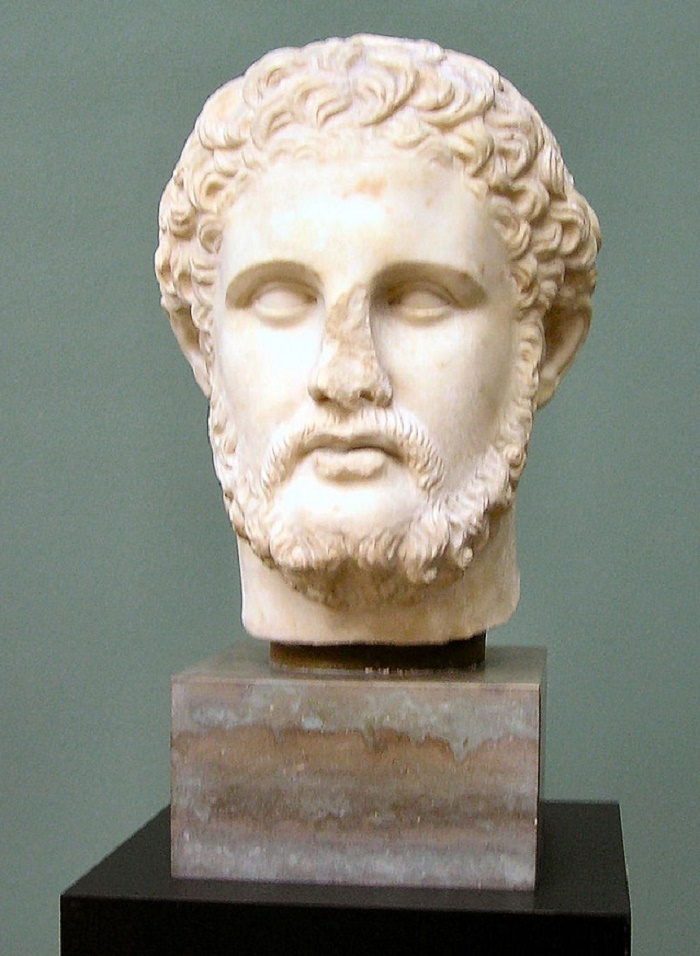 Aleksanteri Suuren isä kuningas Philippos II.