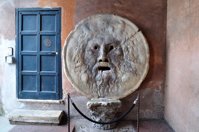 Totuuden Suu. Valokuva: Rome.Net