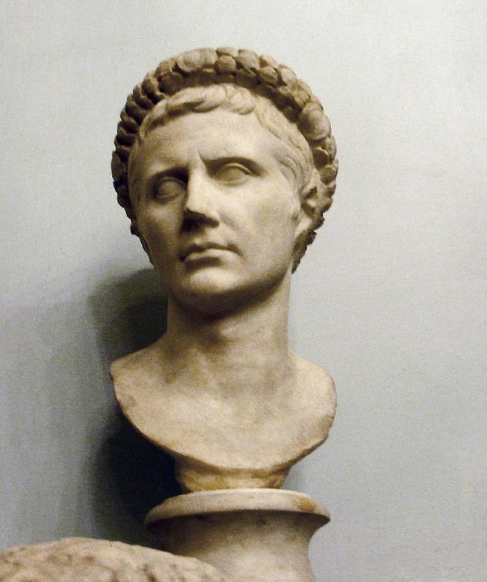 Octavianus, Rooman keisari, jonka me tunnemme nimellä Augustus. Musei Capitolini, Rooma.