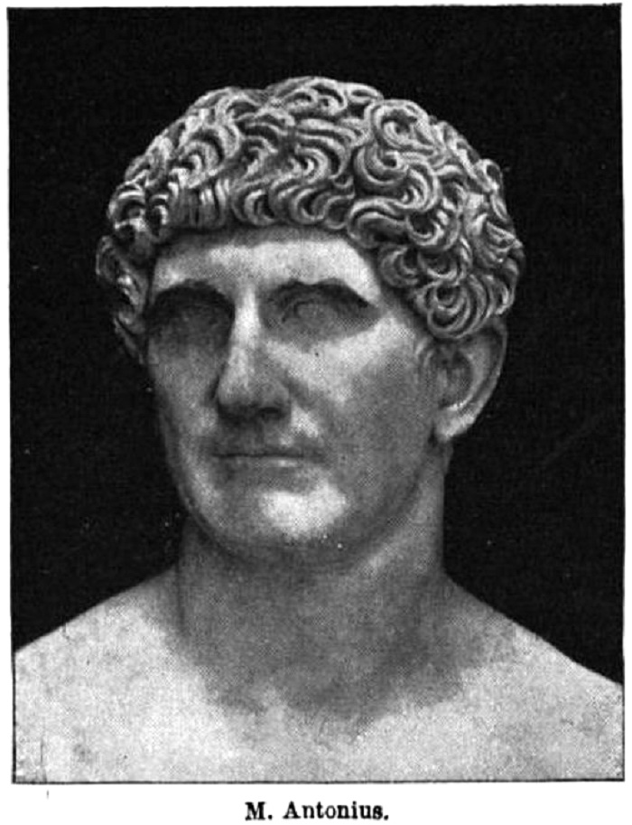 Marcus Antoniuksen rintakuva.