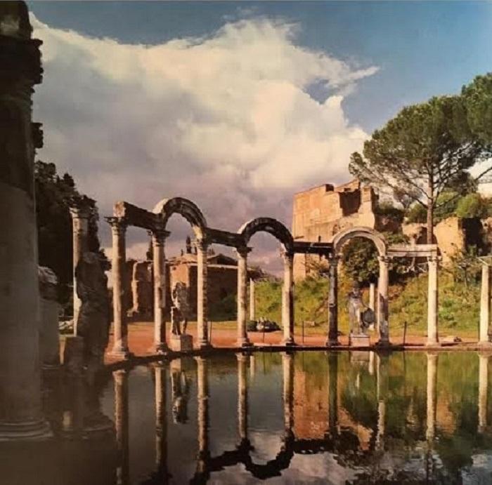 Hadrianuksen huvila Tivolissa.