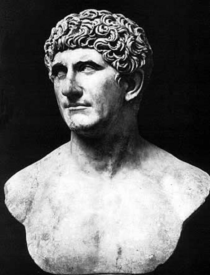 Marcus Antoniuksen rintakuva. Kuva: Wikipedia.
