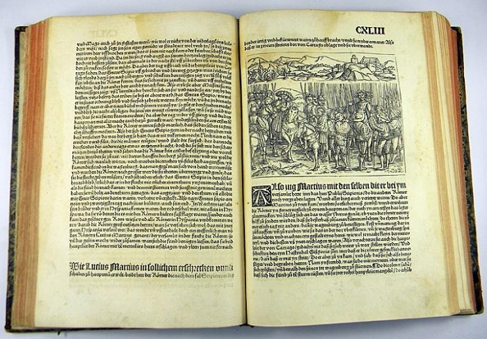 Titus Liviuksen Rooman Historia vuodelta 1523.