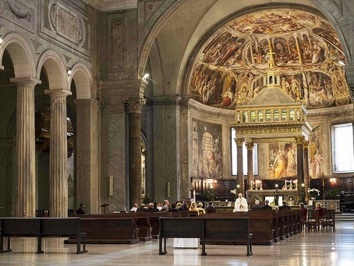 San Pietro in Vincoli. Valokuva: Silvia Adalia.