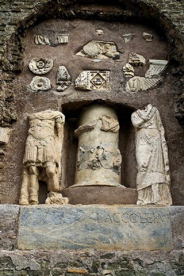 Mausoleum of Cecilia Metella. Appian Way. Rome, Italy. Roman.