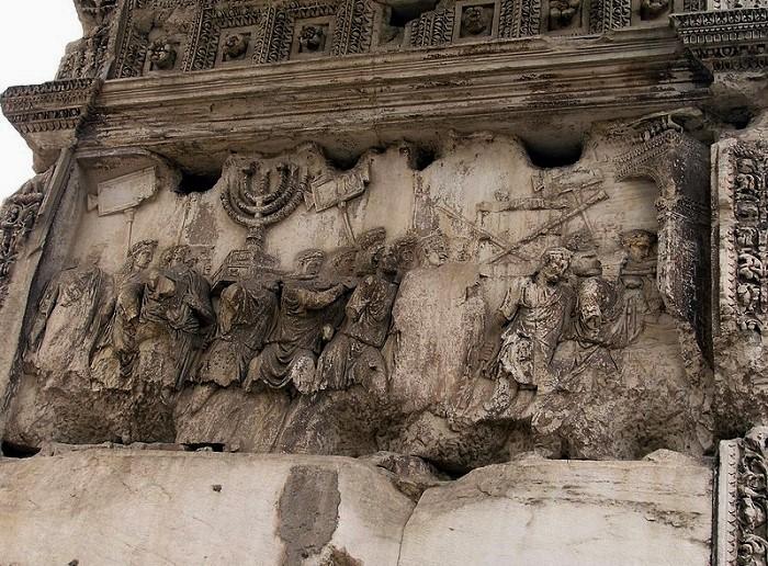 Rom,_Titusbogen,_Triumphzug