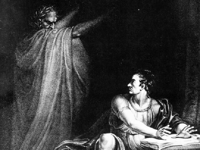 Brutus ja haamu, otsikkokuva